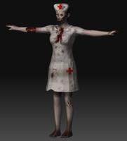 zombie nurse obj