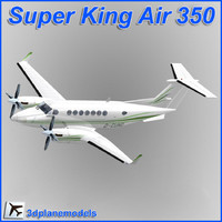 3ds max beechcraft super king air