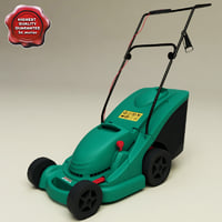 lawn mower bosch rotak 3d model
