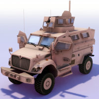 MaxxPro_MRAP_3DModel