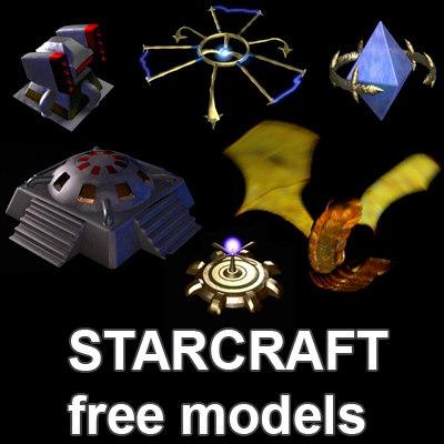 Free StarCraft model pack