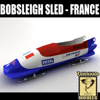 max bobsleigh sled - france