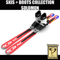Alpine Solomon Skis & Boots