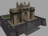 3d gateway india model