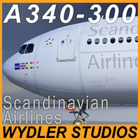 a340-300 scandinavian airlines max
