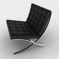 Barcelona Chair (black)