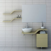 bathroom furniture set 4