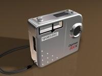 digital camera 3d max