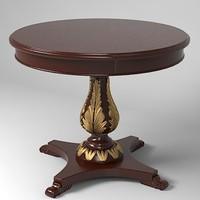 3d classical table