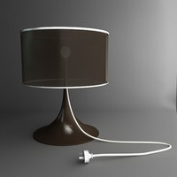 3ds max lamp lead table