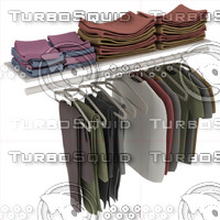 3d clothing closet model