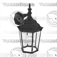 exterior wall light fixture 3d model