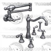 3d faucet fixtures