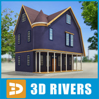 Small town house 43 by 3DRivers
