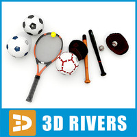 Sports equipment collection by 3DRivers