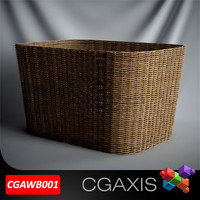 CGAXIS Bathroom wicker basket