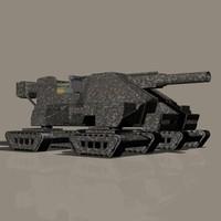 3d bigblaster artillery
