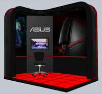 3d model gaming station