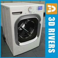 3ds white dryer