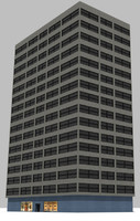 dxf hi-rise building