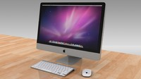 iMac 27 inc LED,Magic Mouse,Wireless Keyboard