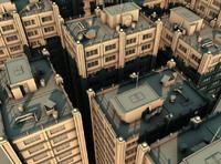 3d model urban building
