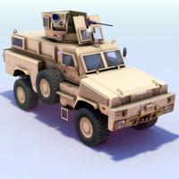 3d model of rg-31 nyala