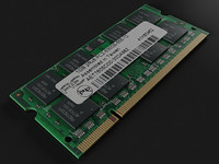 so-dimm ram 3d max
