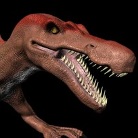 3ds max spinosaurus egypticus hd