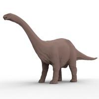 3d model apatosaurus dinosaur jurassic