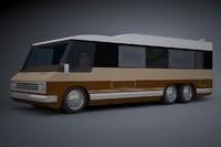 camper van 3d 3ds