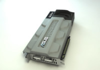3d model asus card mars graphics
