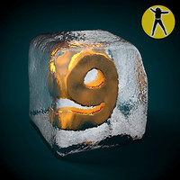 ice cube 3d max