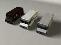 3d delivery vans