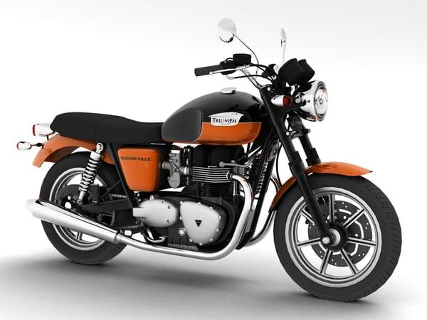 Triumph Bonneville SE 2012