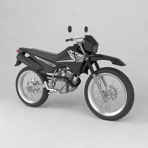 3d model yamaha xtz 125 - yamaha xtz 125... by German Lagna