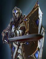 3d fantasy knight