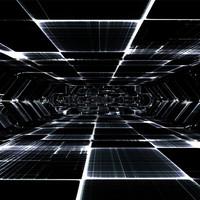 3d tunnel sci fi