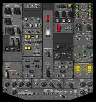 B727 Overhead Panel