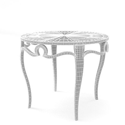 christopher guy tend 3d model - Christopher Guy tend table 76-0124... by shop3ds