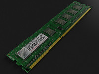 3d ddr3 ram model