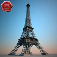 lightwave eiffel tower