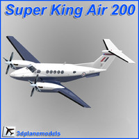 Beechcraft Super King Air B200 UK Air Force (RAF)