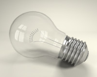 Incandescent Glass Light Bulb