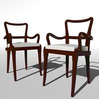 sofia armchair promemoria 3d max