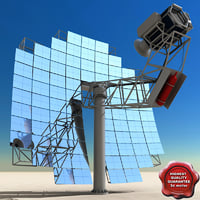 lightwave stirling solar unit
