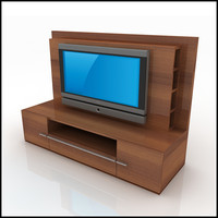 TV / Wall Unit Modern Design X_02