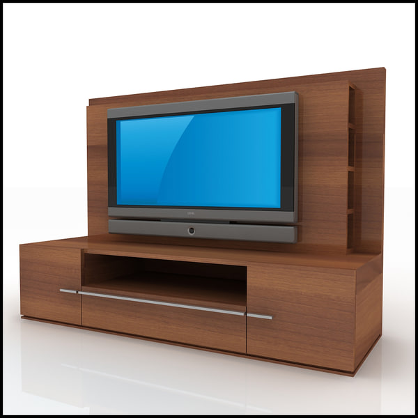 3d tv wall unit modern design model - Contemporary tv wall unit designs ...