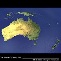 3d australia new zealand