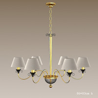 baga 624bl chandelier 3ds
